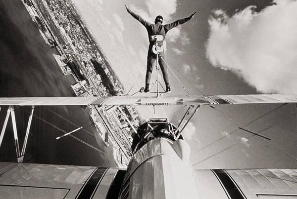 Aerobatics Wall Art - Photograph - Stunts Plane by Archive Holdings Inc.