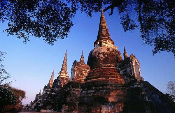 Wall Art - Photograph - Stupa Of Wat Phra Si Sampeth by Paolo Cordelli