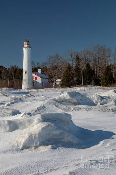 Photograph - Sturgeon Point Lighthouse by Jim West