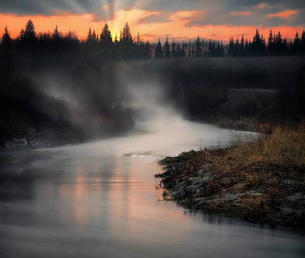 Photograph - Sturgeon River Morning by Dan Jurak