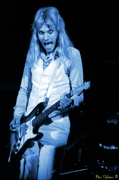 Photograph - Styxspo77 #36 Blue by Ben Upham