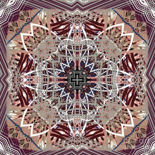 Digital Art - Subdued Abstract Pattern Design  by Sheila Wenzel