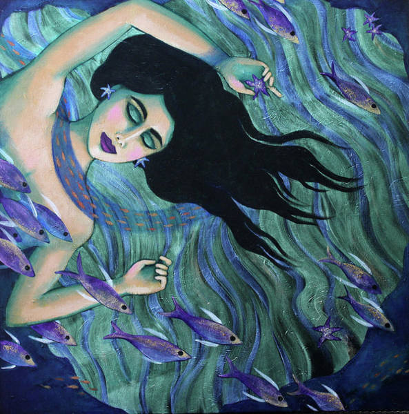 Painting - Submerged by Carla Golembe