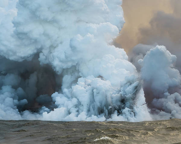 Photograph - Submerged Lava Bomb by William Dickman
