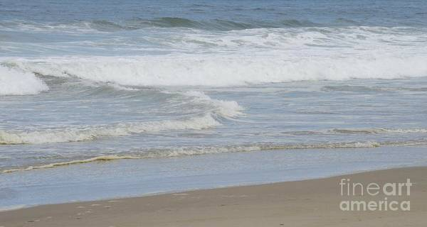 Photograph - Subtle Calming Waves by Sheila Wenzel