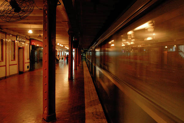 Photograph - Subway In Buenos Aires by Mark Duehmig