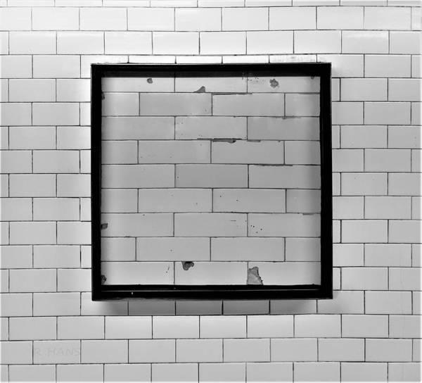 Photograph - Subway Tile Art by Rob Hans