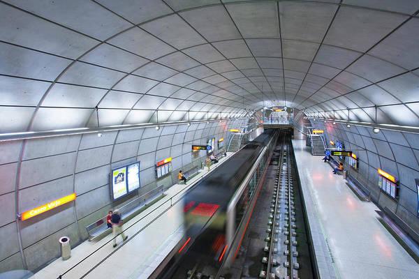 Bilbao Photograph - Subway, Underground Of Bilbao by Gonzalo Azumendi