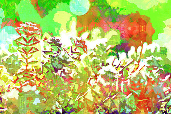 Painting - Succulent Garden 1 by Jocelyn Friis