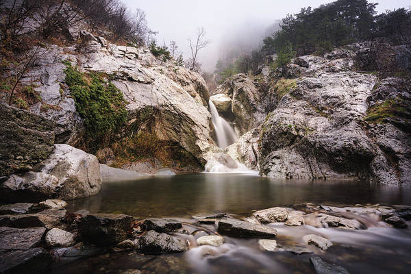 Photograph - Suchurum Waterfall, Karlovo, Bulgaria by Milan Ljubisavljevic