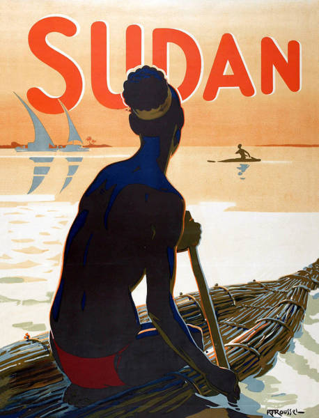Sails Digital Art - Sudan by Long Shot