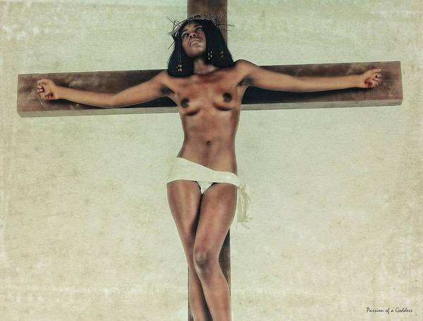 Wall Art - Photograph - Suffering On Cross Iv by Ramon Martinez