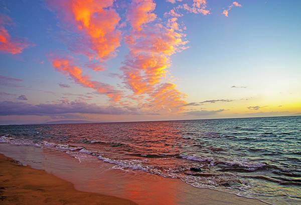 Photograph - Sugar Beach Sunset by Anthony Jones