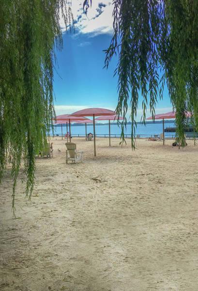 Wall Art - Photograph - Sugar Beach View Onto Lake Ontario by Art Spectrum