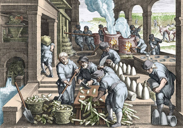 Wall Art - Photograph - Sugar Refinery, 16th Century by Science Source