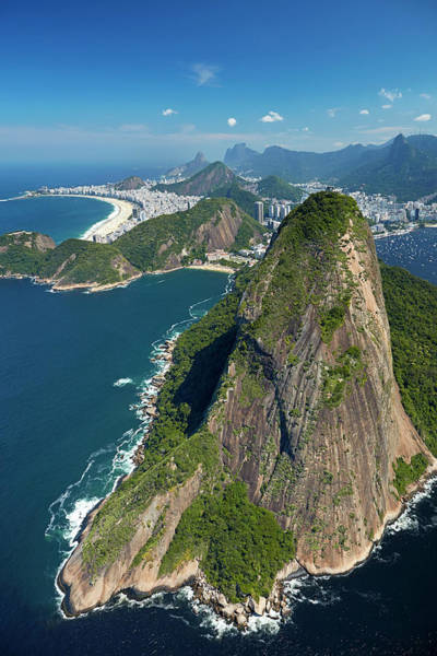 Wall Art - Photograph - Sugarloaf Mountain (pao De Acucar by David Wall
