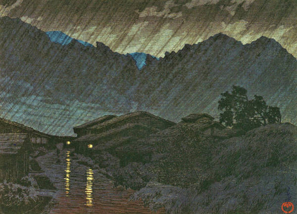 Wall Art - Painting - Suhara, Kiso, Views Of Japanese Scenery - Digital Remastered Edition by Kawase Hasui