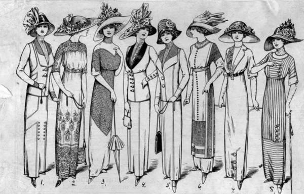 Straw Hat Photograph - Suits And Dresses by Hulton Archive