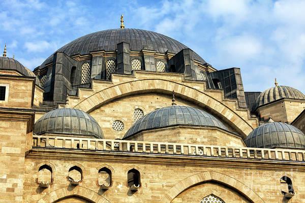Suleymaniye Mosque Photograph - Suleymaniye Camii Istanbul by John Rizzuto