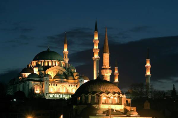 Suleymaniye Mosque Photograph - Suleymaniye Mosque Istanbul by Lebazele
