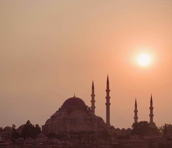 Suleymaniye Mosque Photograph - Suleymaniye Mosque, Istanbul, Turkey by David Madison