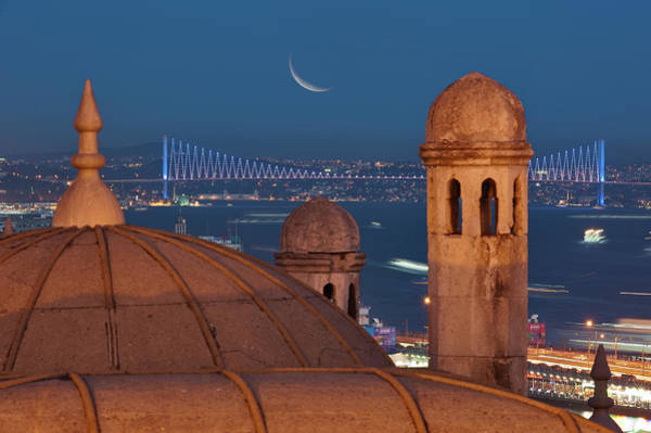 Suleymaniye Mosque Photograph - Suleymaniye by Salvator Barki