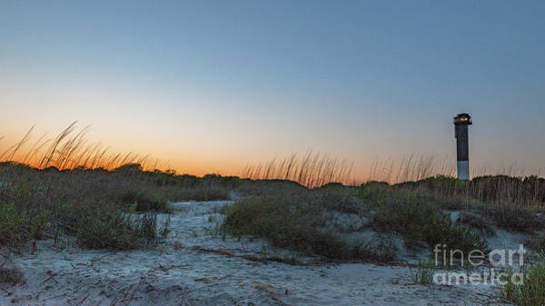 Photograph - Sullivan's Island Lighouse - Sunset by Dale Powell