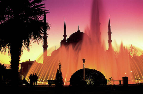 Wall Art - Photograph - Sultanahmet, Blue Mosque, Istanbul by Peter Adams