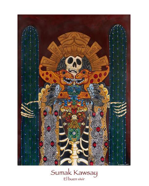 Understanding Painting - Sumak Kawsay by Santiago Andrade Leon