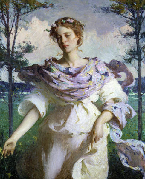 Wall Art - Painting - Summer, 1890 by Frank Weston Benson