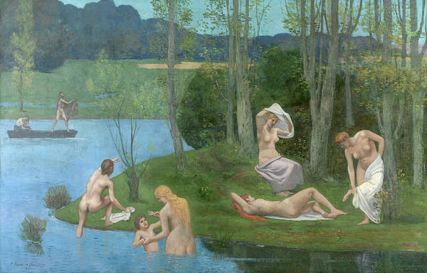 Wall Art - Painting - Summer, 1891 by Pierre Puvis de Chavannes