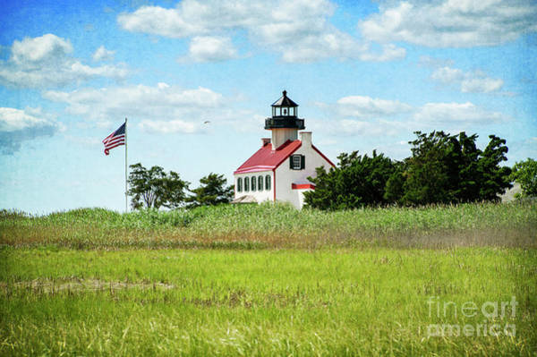 Photograph - Summer At East Point Lighthouse II by Debra Fedchin
