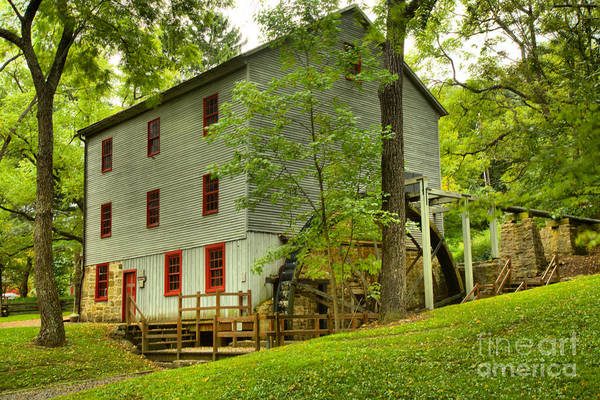 Photograph - Summer At Shoaff's Mill by Adam Jewell