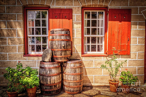 Wall Art - Photograph - Summer At The Old Salem Mercantile Store by Dan Carmichael