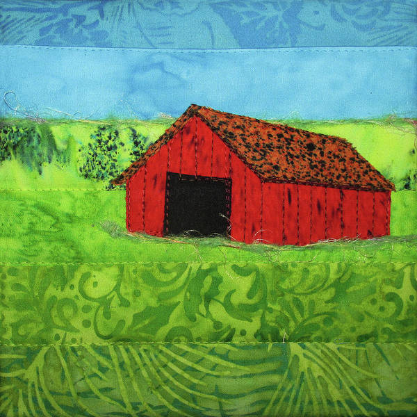 Tapestry - Textile - Summer Barn by Pam Geisel