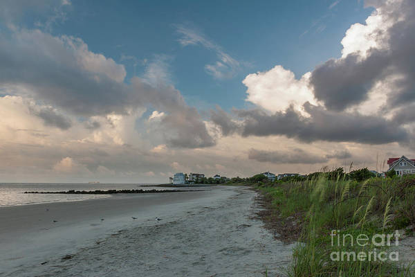 Photograph - Summer Beach Days - Charleston Sc by Dale Powell