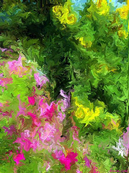 Digital Art - Summer Blooms by Rein Nomm