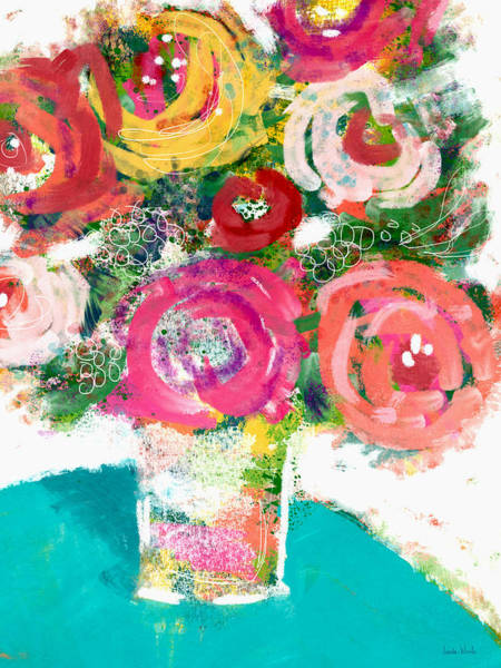 Wall Art - Painting - Summer Bouquet- Art By Linda Woods by Linda Woods