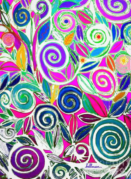 Wall Art - Mixed Media - Summer Breeze 7 by A Hillman
