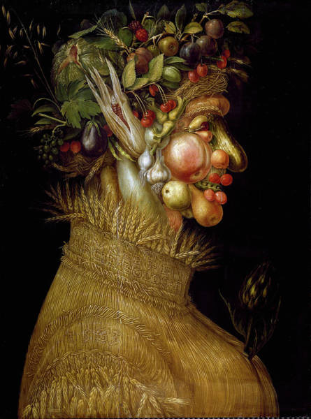 Painting - Summer, By Giuseppe Arcimboldi by Leemage