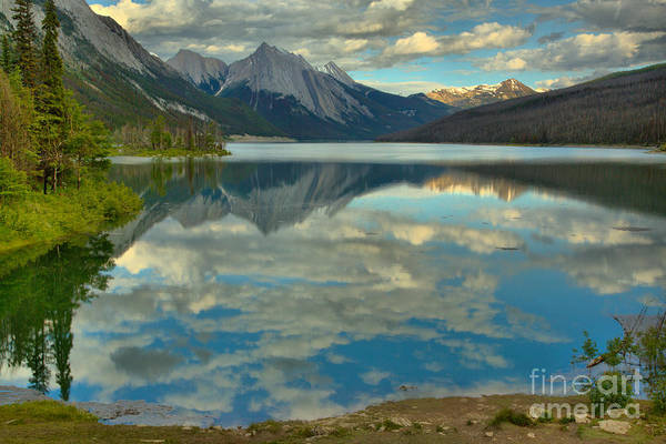 Photograph - Summer Clouds At Medicine Lake by Adam Jewell