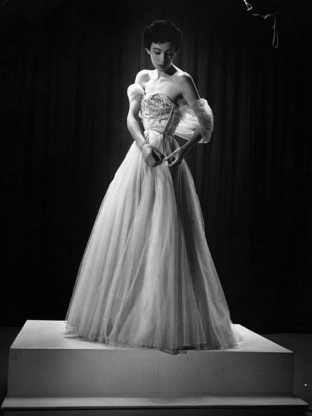 Evening Wear Photograph - Summer Collection by Kurt Hutton