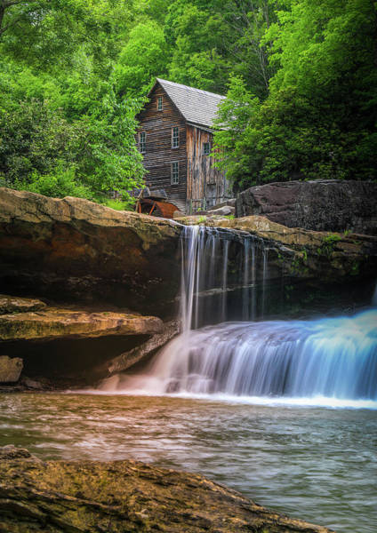 Photograph - Summer Colors At Glade Creek Grist Mill by Dan Sproul