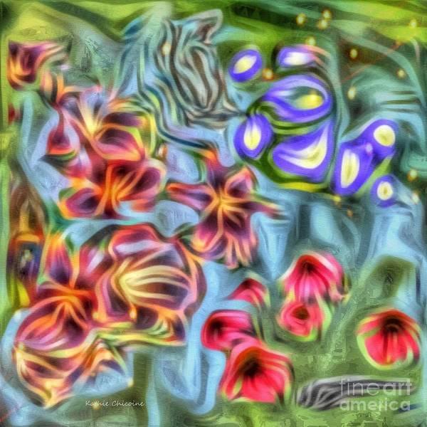 Digital Art - Summer Colors by Kathie Chicoine