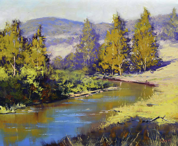Wall Art - Painting - Summer Coxs River by Graham Gercken