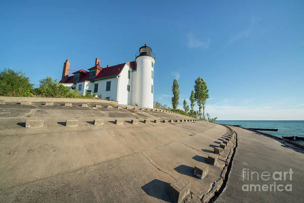 Wall Art - Photograph - Summer Day At Point Betsie Lighthouse by Twenty Two North Photography