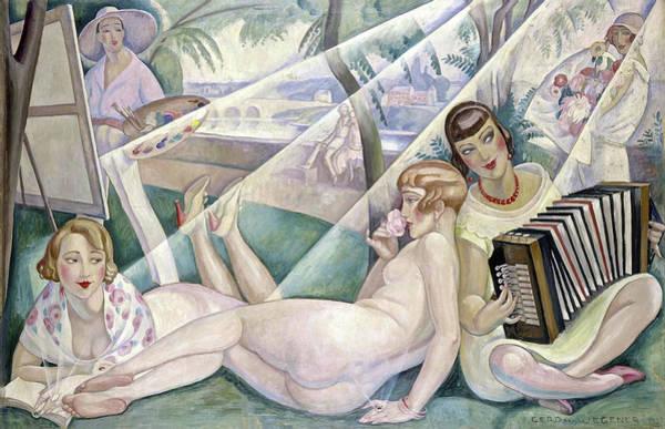 Wall Art - Painting - Summer Day by Gerda Wegener