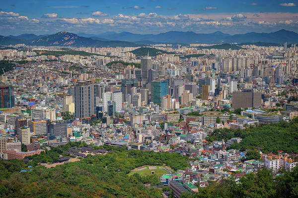 Photograph - Summer Day In Seoul by Rick Berk