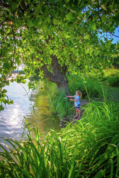 Photograph - Summer Days At The Lake by Lynn Bauer