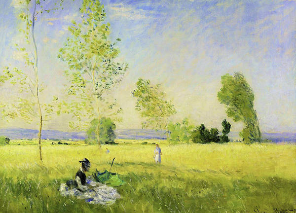 Wall Art - Painting - Summer - Digital Remastered Edition by Claude Monet